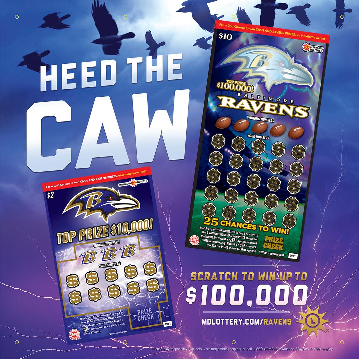 RAVENS SCRATCH-OFFS ARE HERE!