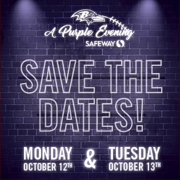 Save the dates!