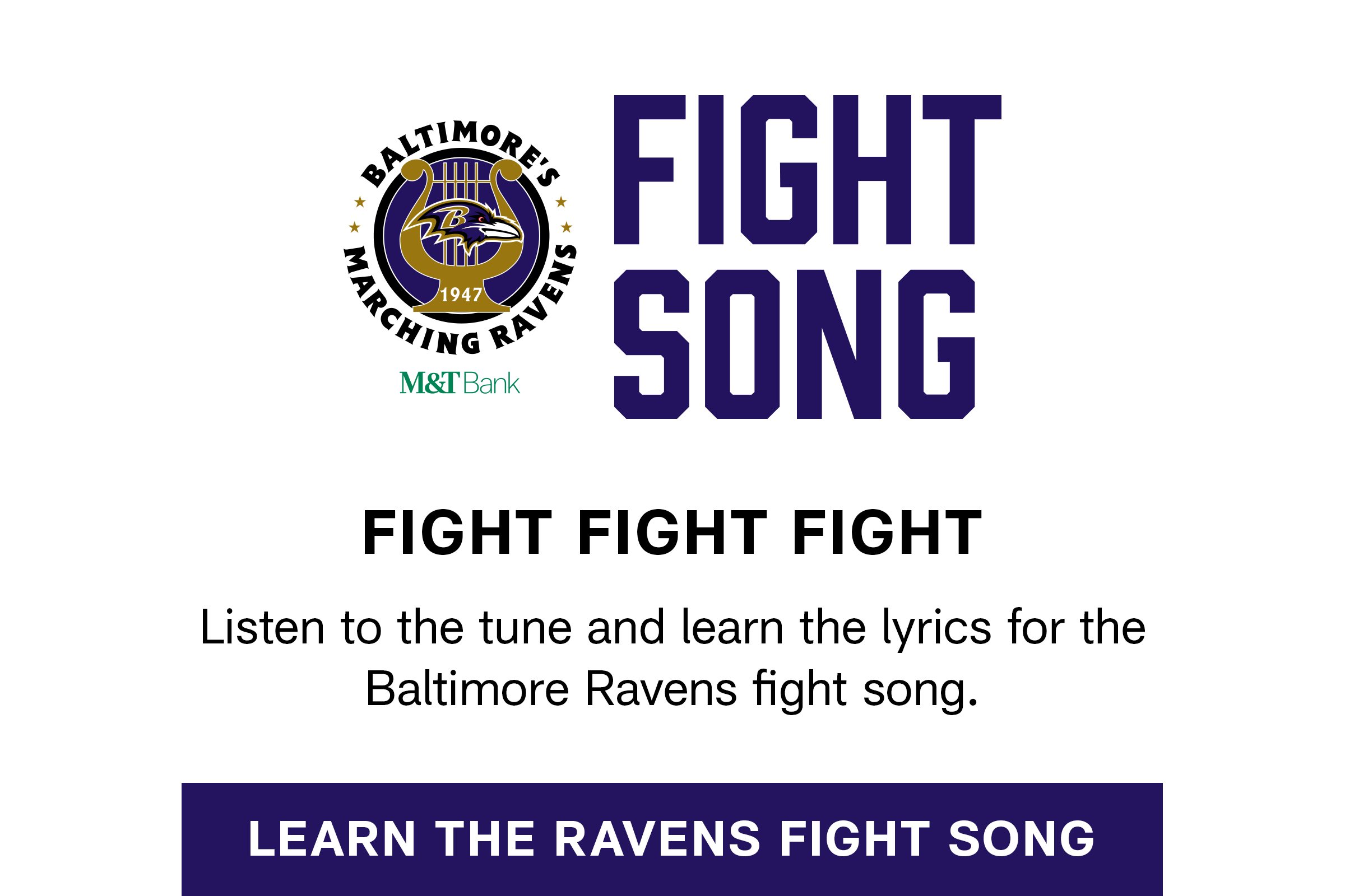 Learn The Fight Song