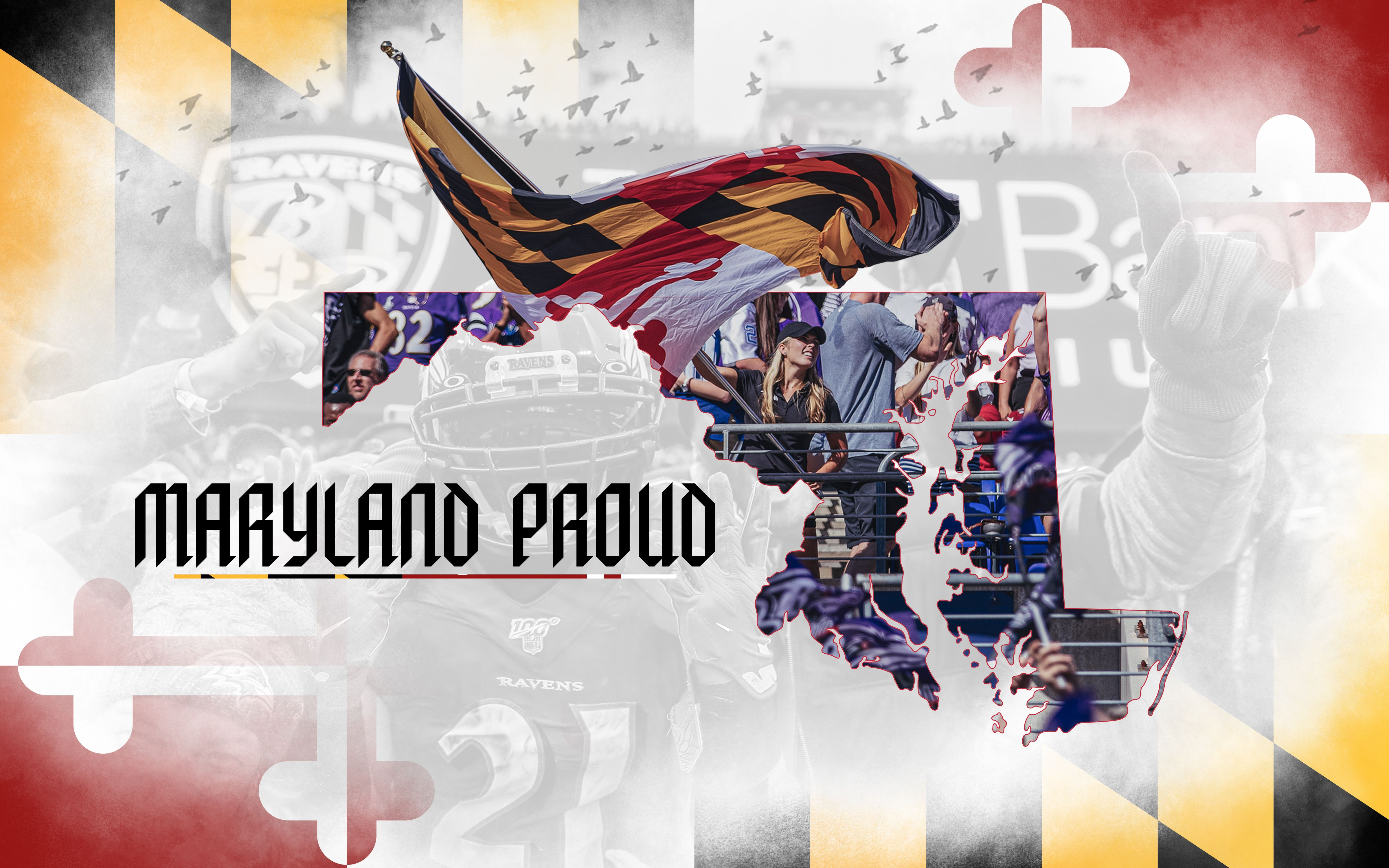 Maryland Proud Desktop Wallpaper