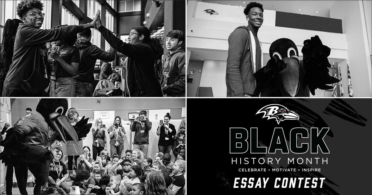 Baltimore Ravens Black History Month Essay Contest