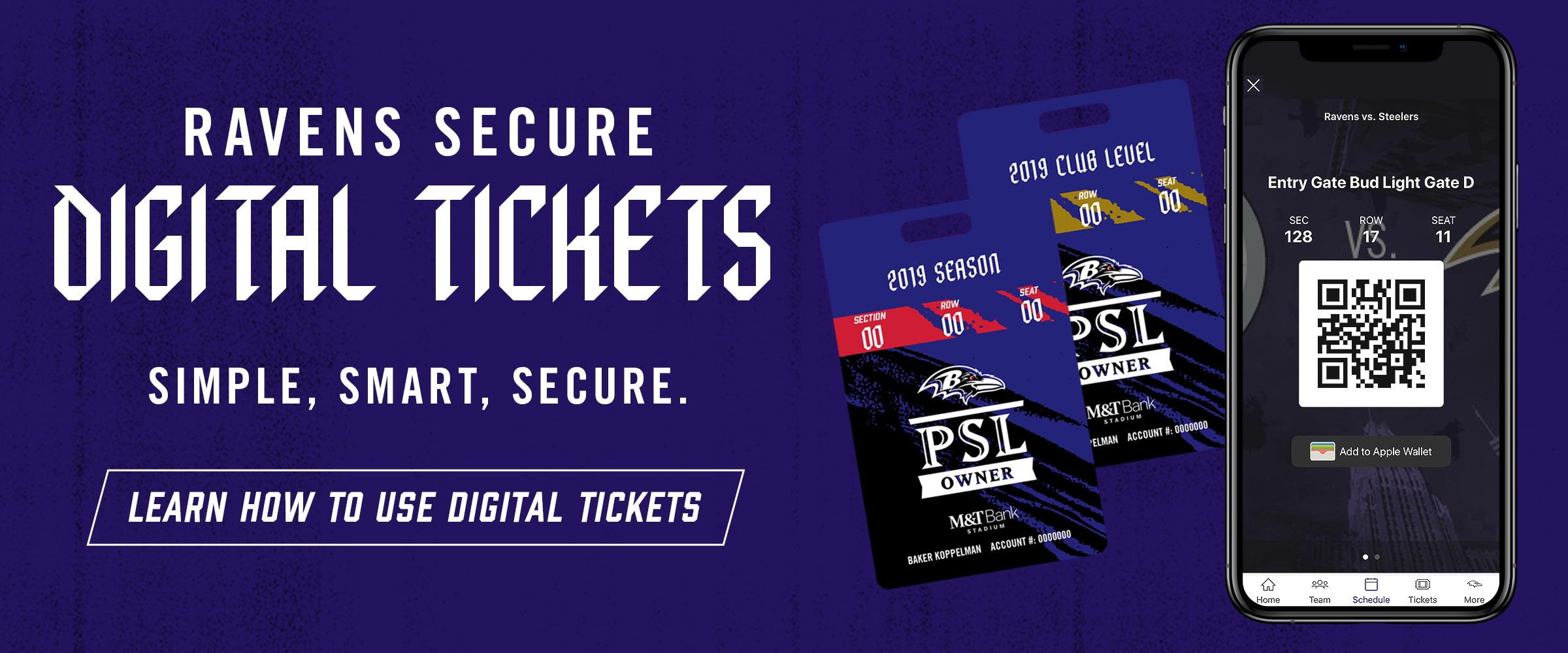 Learn More About Digital Tickets