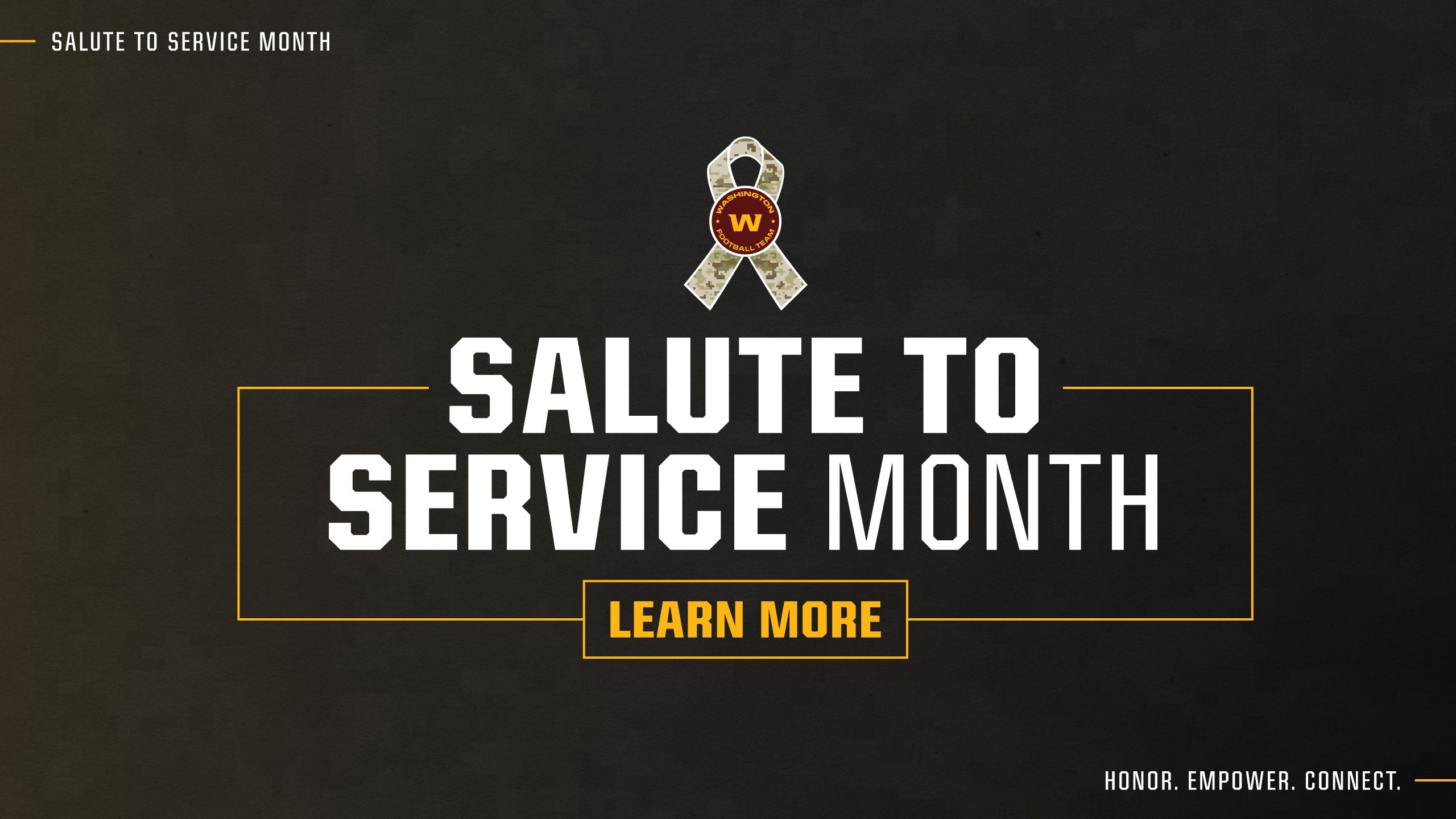 Salute To Service Month