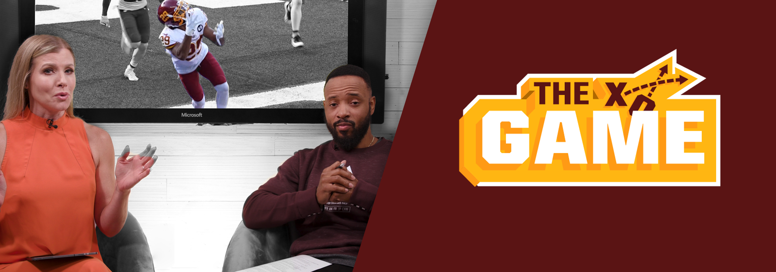 Santana Moss joins Julie Donaldson to break down the X's & O's following every Washington Football Team game. Going beyond the stats and inside the minds of the players on Gameday, The Game provides viewers with the most in-depth coverage of their favorite football team. The Game drops on Tuesdays.