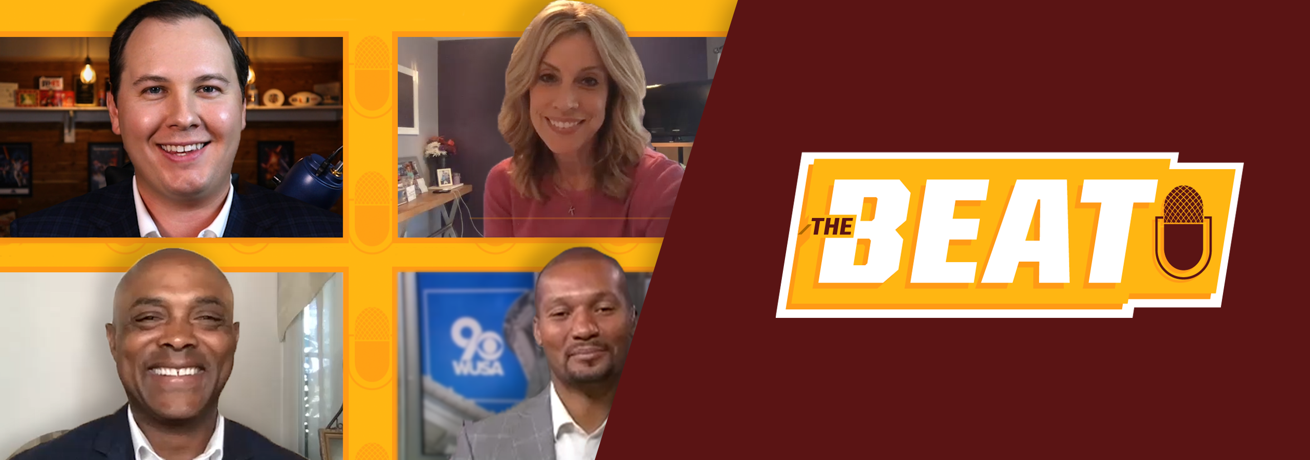 Join host Chip Brierre and some of the biggest media members in the NFL as they share unfiltered reactions to all the top storylines surrounding the Washington Football Team and latest news from across the NFL. The Beat drops every Saturday.