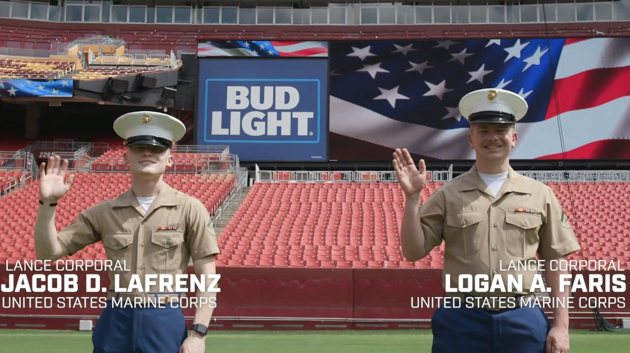 Lance Corporal's Jacob LaFrenz and Logan Faris