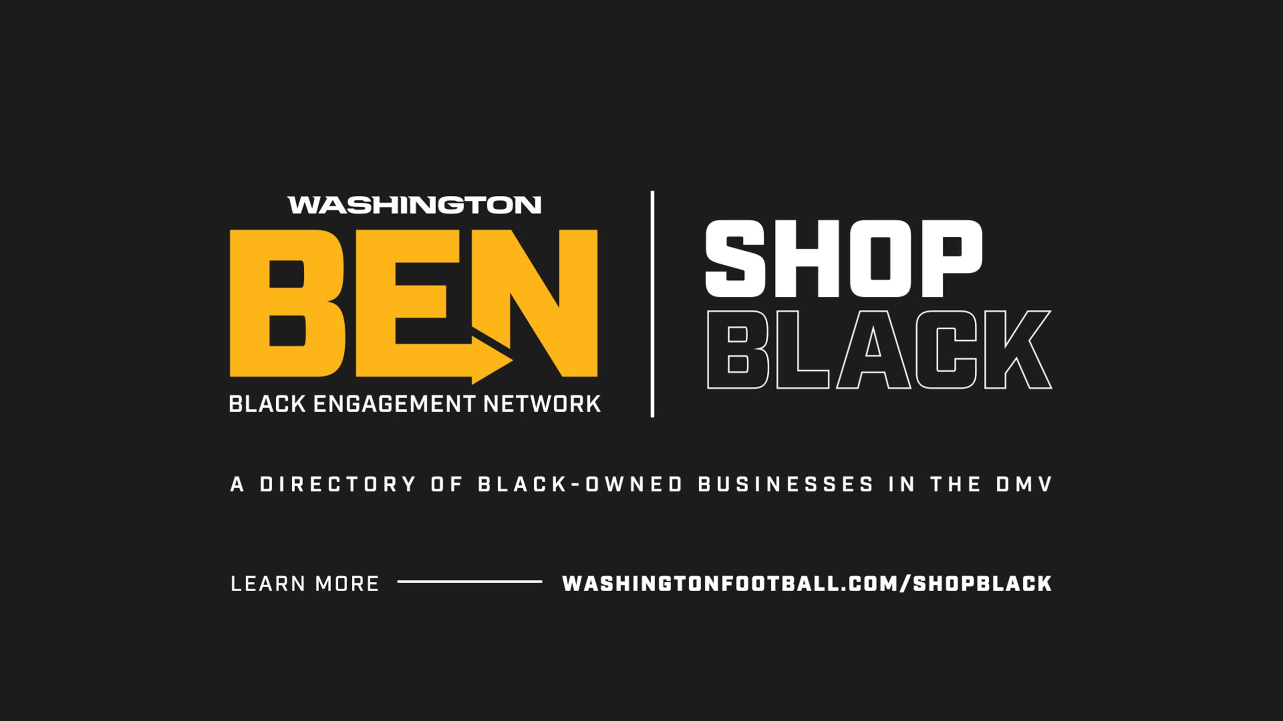 Washington BEN Shop Black Directory