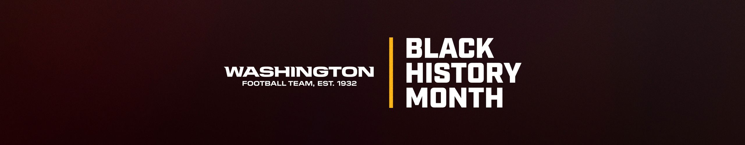 Throughout the month of February, the team will focus efforts on impactful initiatives that align with the organization's commitment to engaging with the African American community throughout the DC Metro Area. The pillars of all the team's efforts will focus on education, sports and activism, and community.