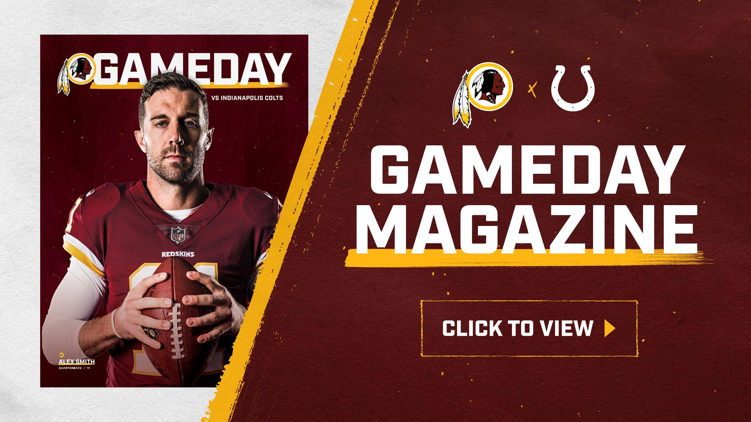 Washington Redskins vs Indianapolis Colts