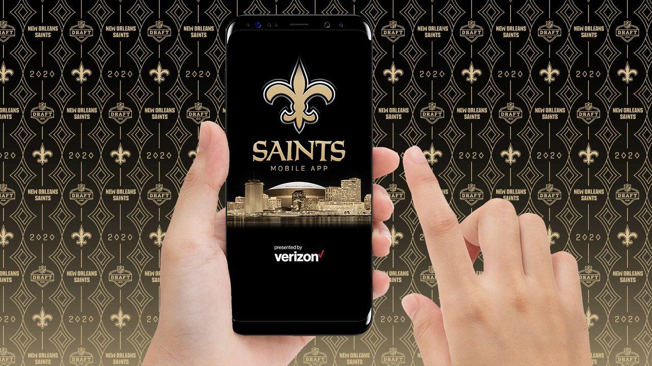 Download the Saints App
