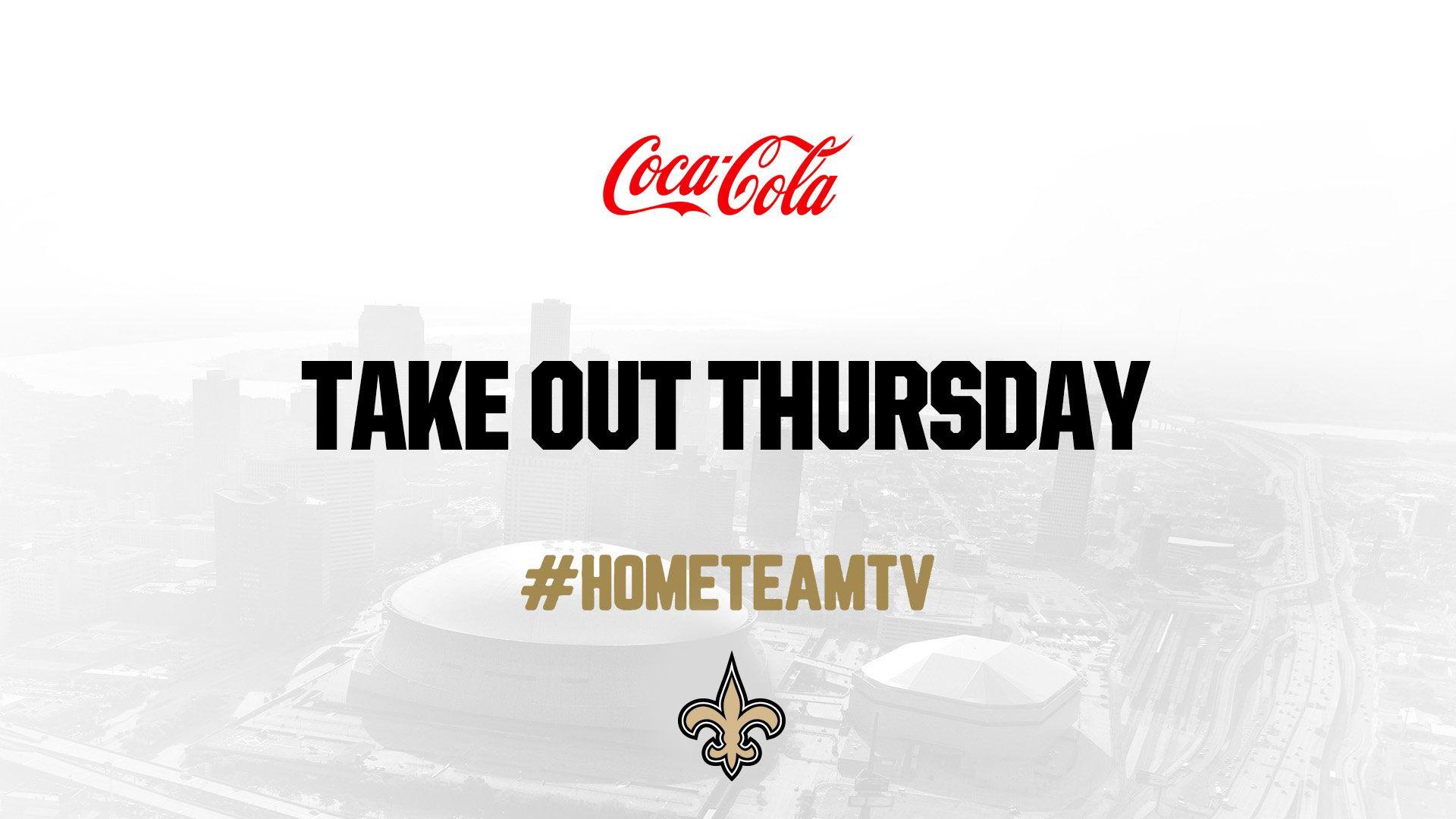 Saints Home Team TV - Takeout Thursday