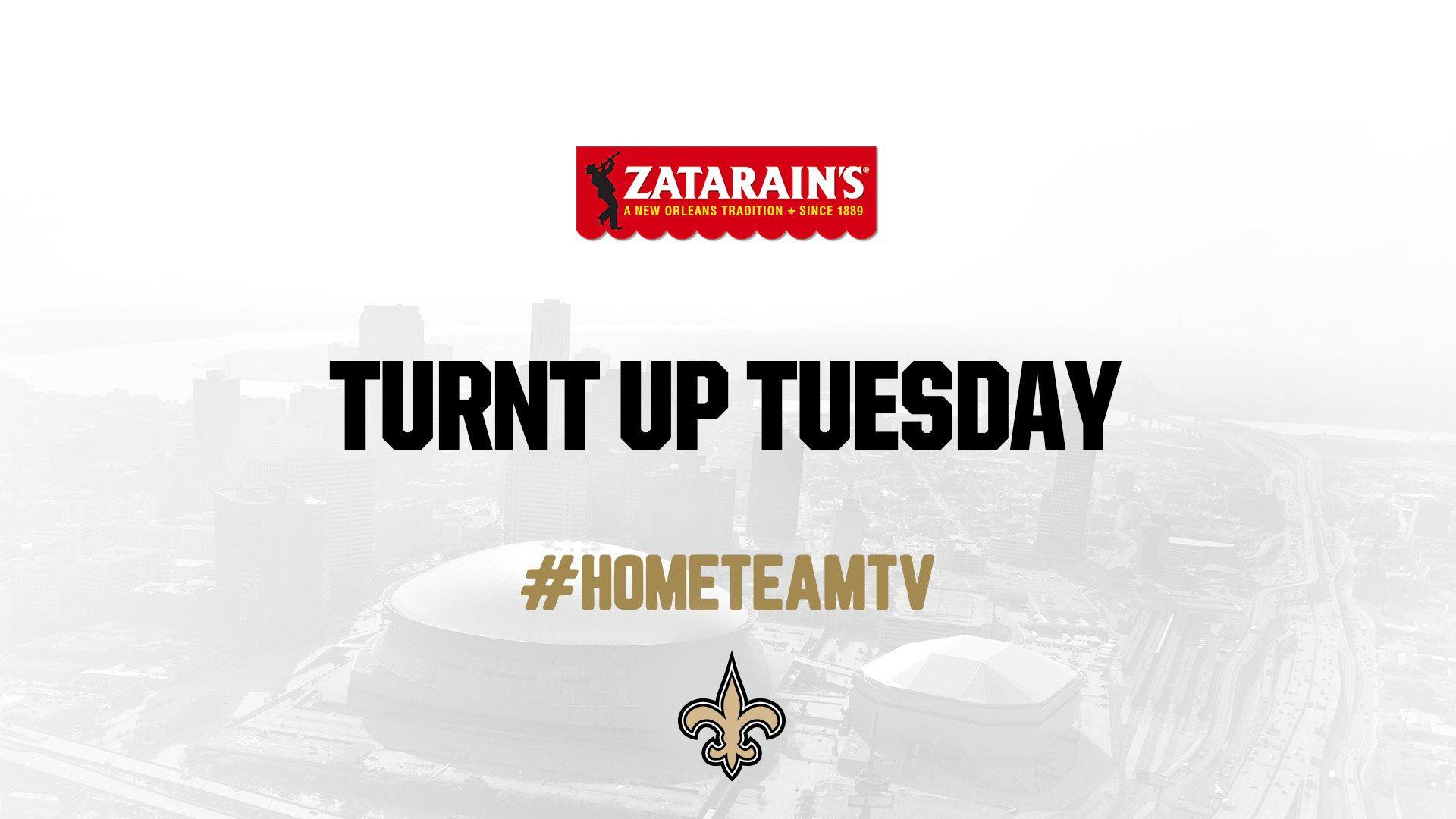 Saints Home Team TV - Turnt Up Tuesday