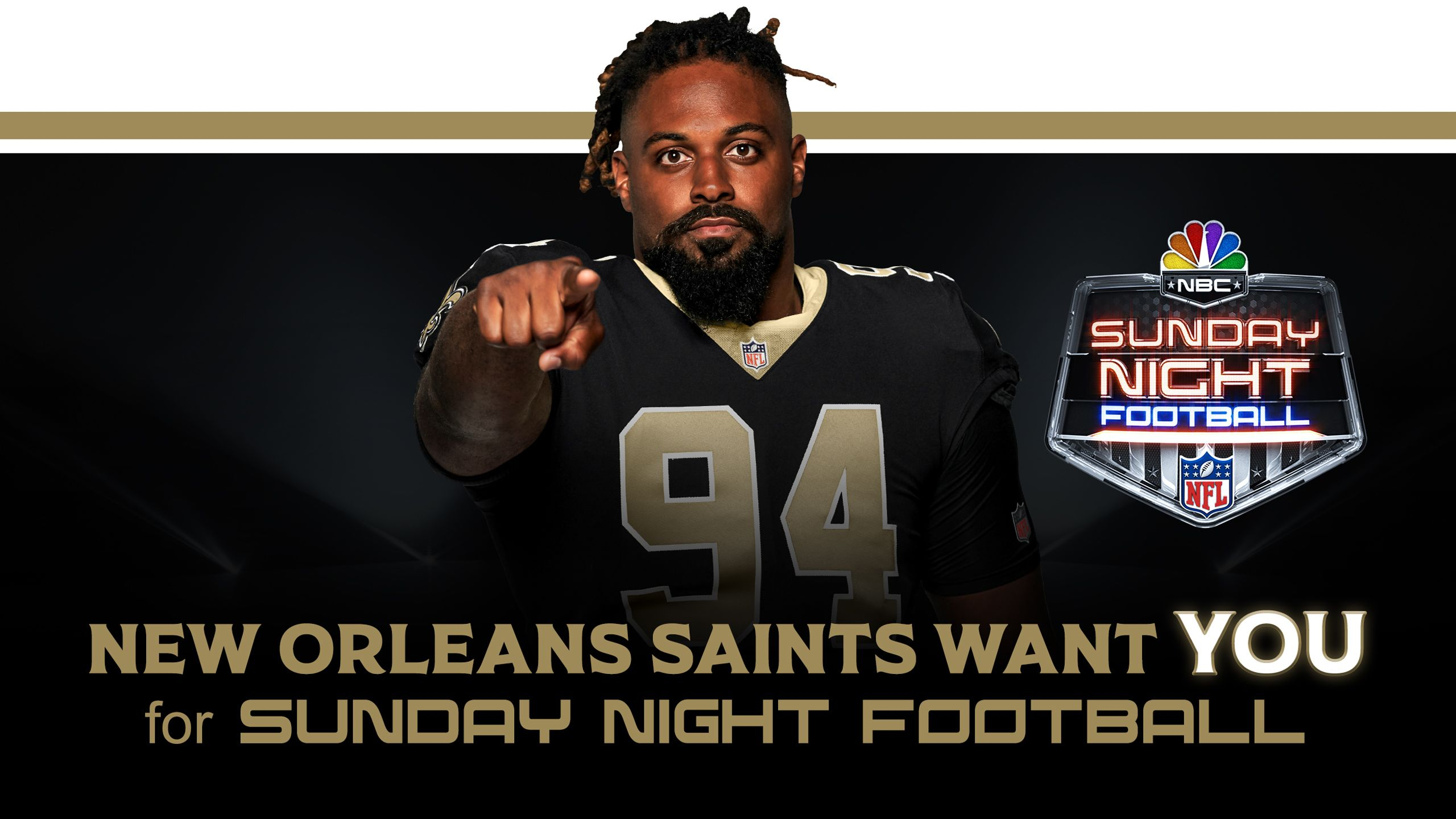 BE PART OF NBC's SUNDAY NIGHT FOOTBALL