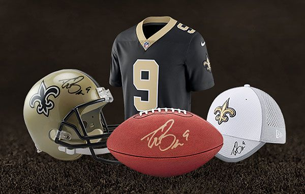 Win a Piece of Saints + Drew Brees History!