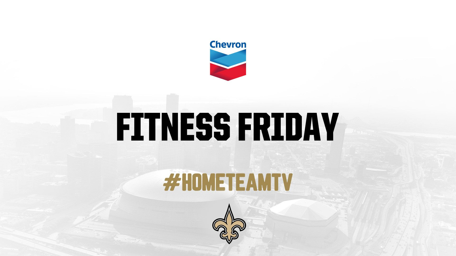 Saints Home Team TV - Fitness Friday