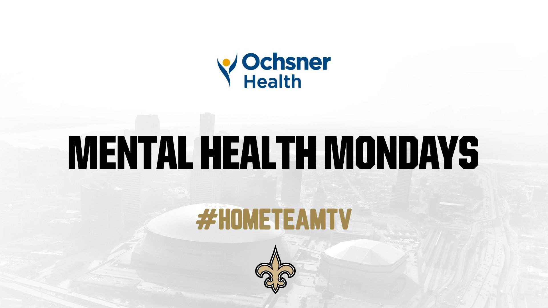 Saints Home Team TV - Mental Health Monday