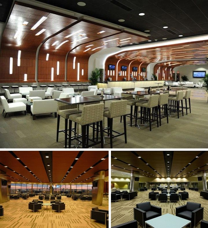 Experience Saints games in style with the upscale amenities and true premium environment of the Club Lounges located on the 200 level
