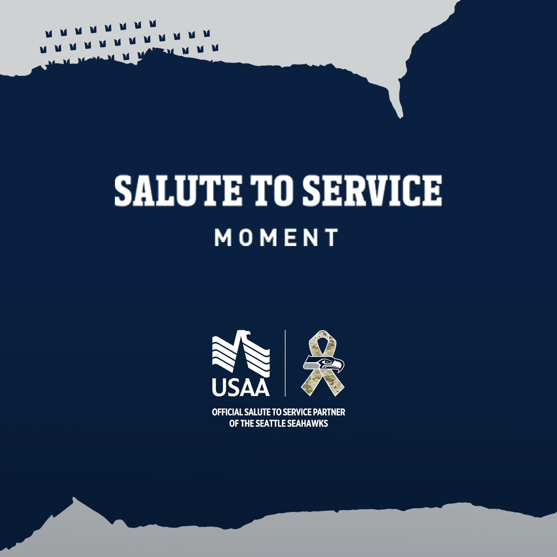 Salute To Service Moments