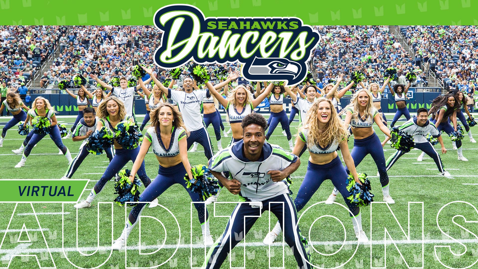 Auditions for the 2020 Seahawks Dancers are now VIRTUAL
