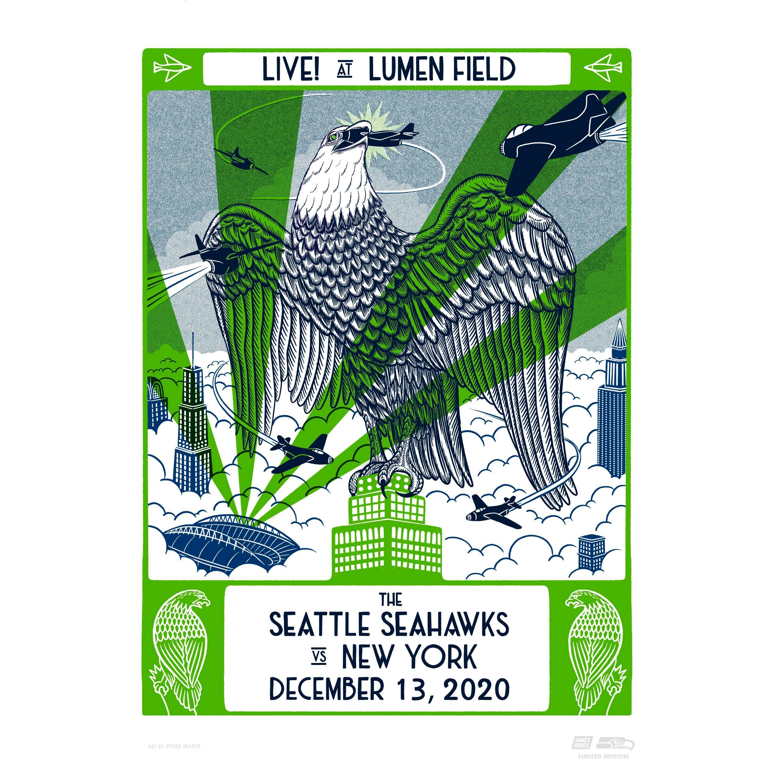 Seahawks Gameday Posters Seattle Seahawks Seahawks Com