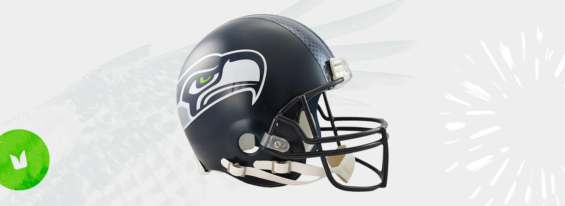 Autographed Seahawks Helmet