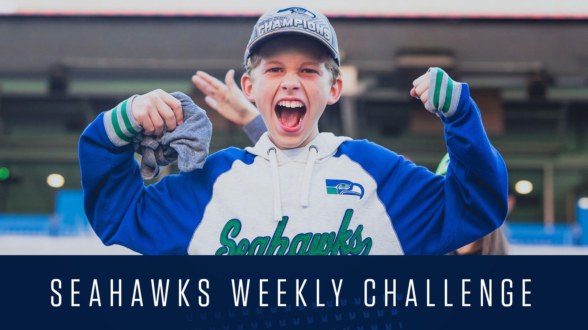 Seahawks Weekly Challenge