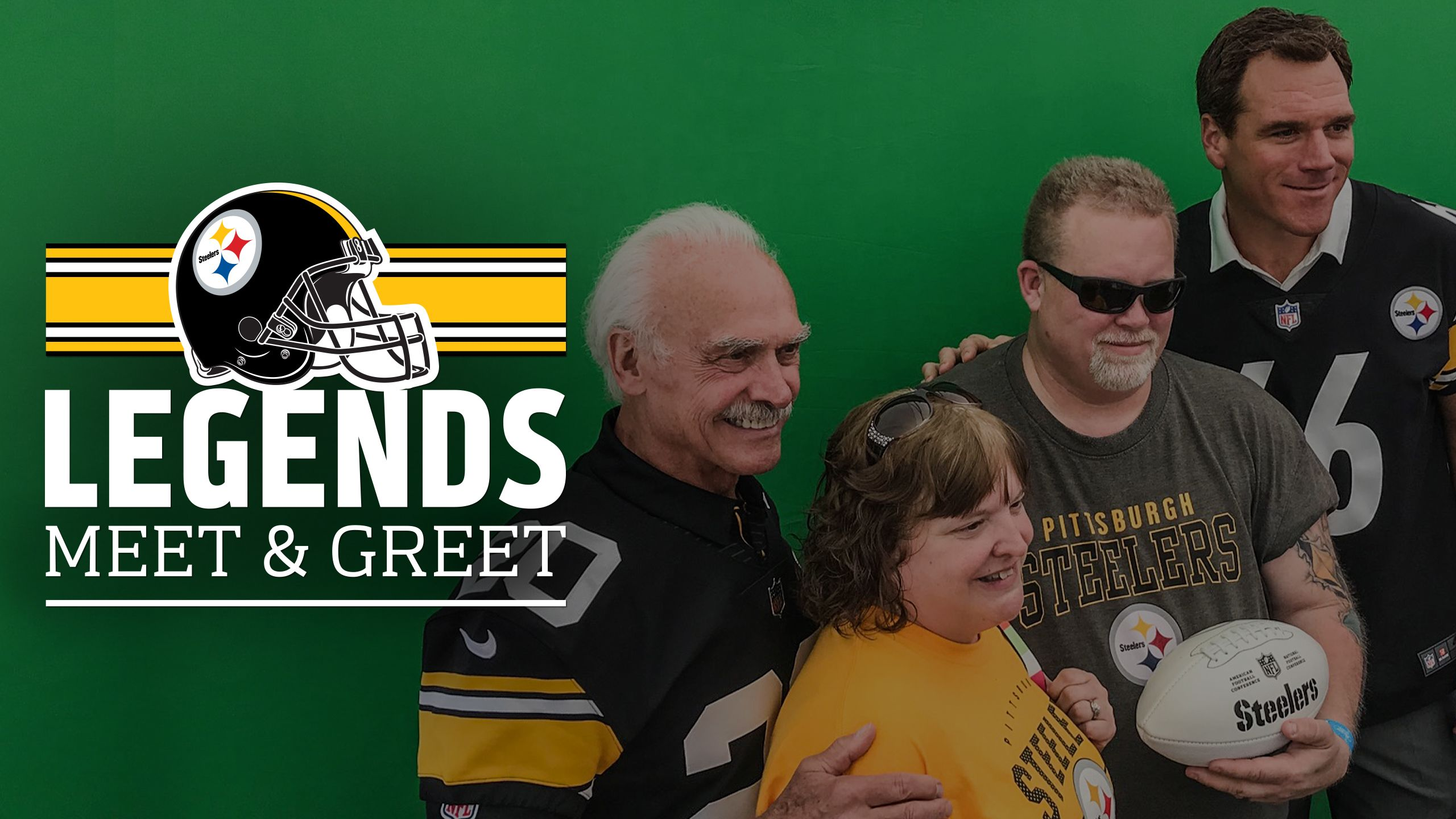 Steelers Legends Meet and Greets