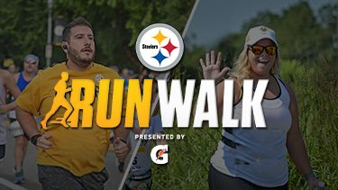 Virtual Steelers Run and Walk