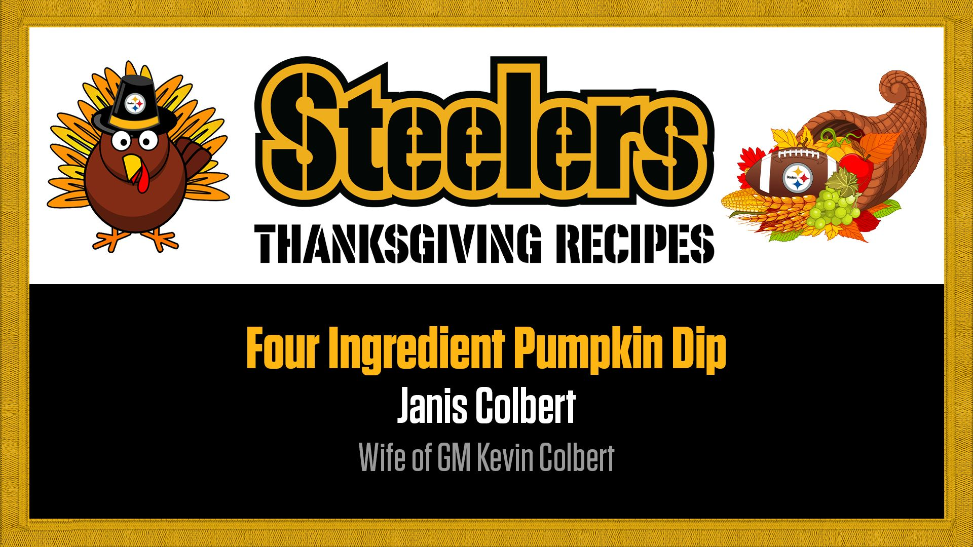 Recipe - four ingredient pumpkin dip_janis colbert