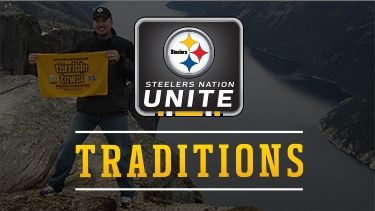 Get your Steelers Traditions Featured