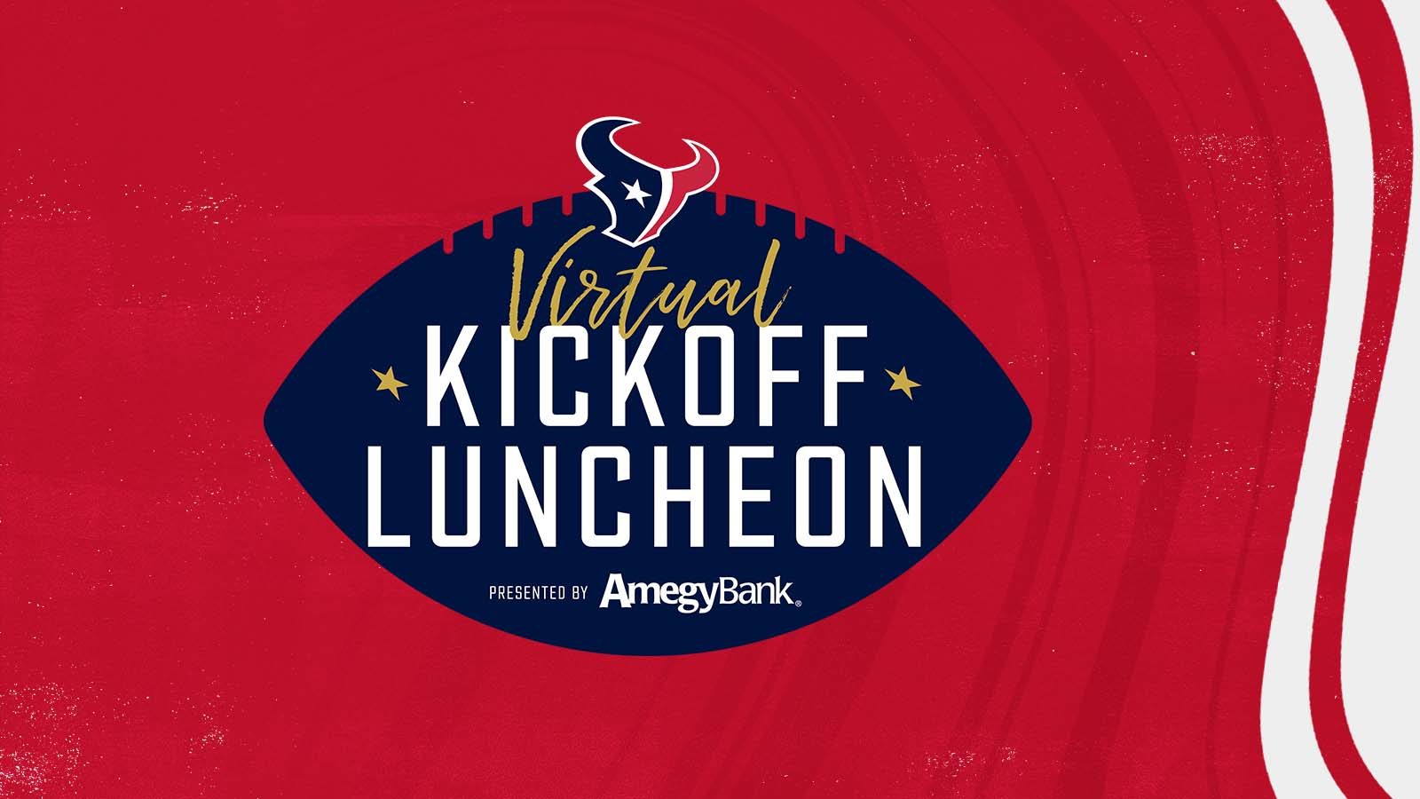 Virtual Kickoff Luncheon presented by Amegy Bank