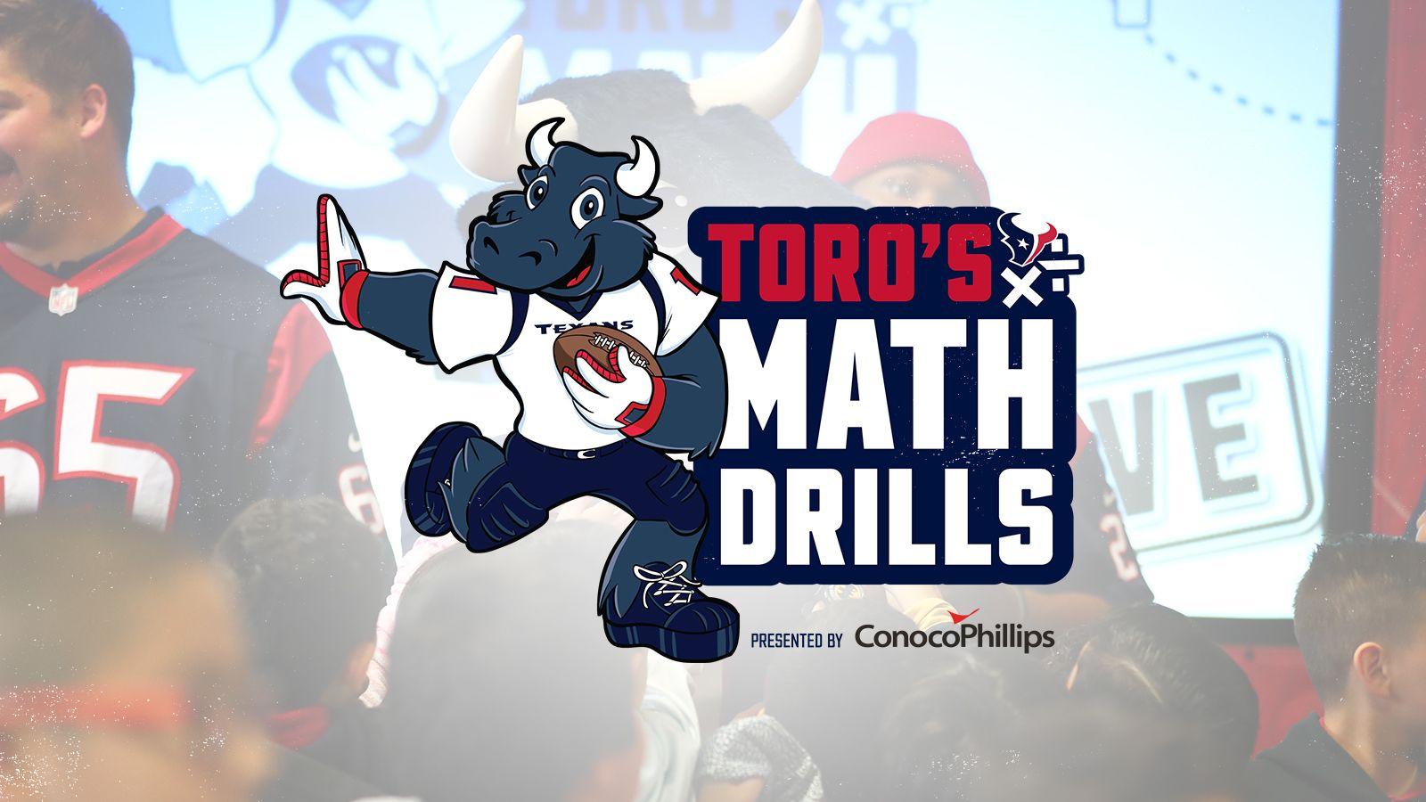 TORO's Math Drills presented by Conoco Phillips