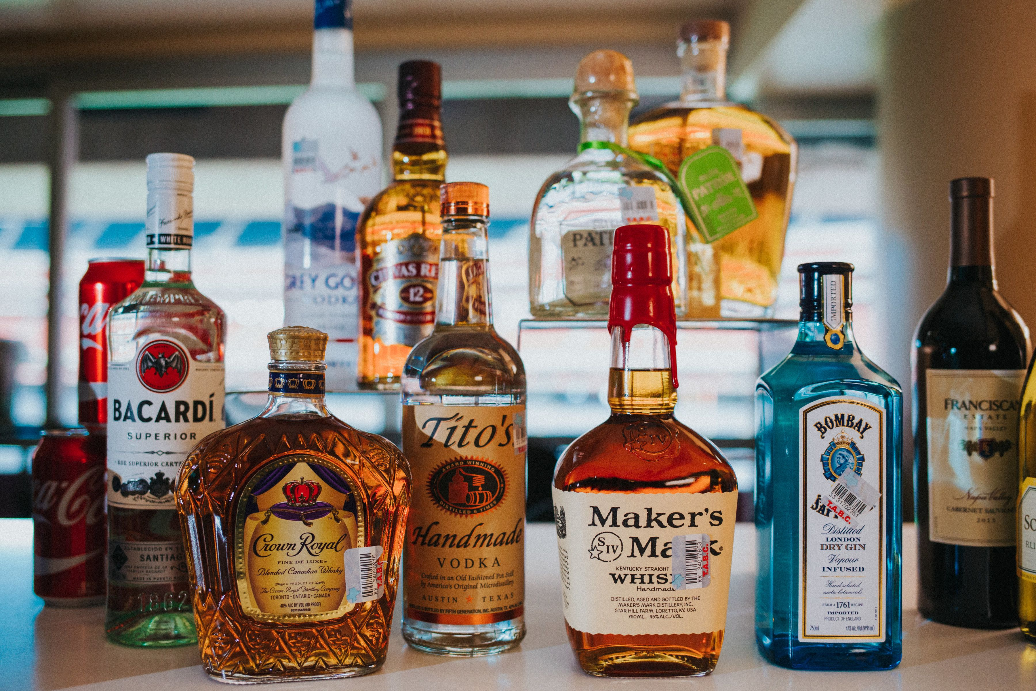 Your choice of top shelf liquors, high-end wine and Houston's favorite beers at your service