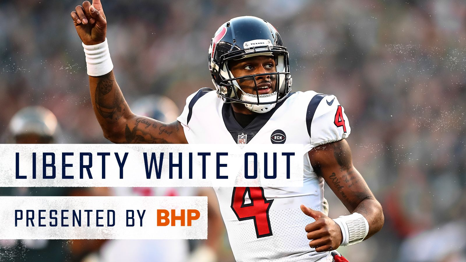 Liberty White Out Game. Presented by BHP