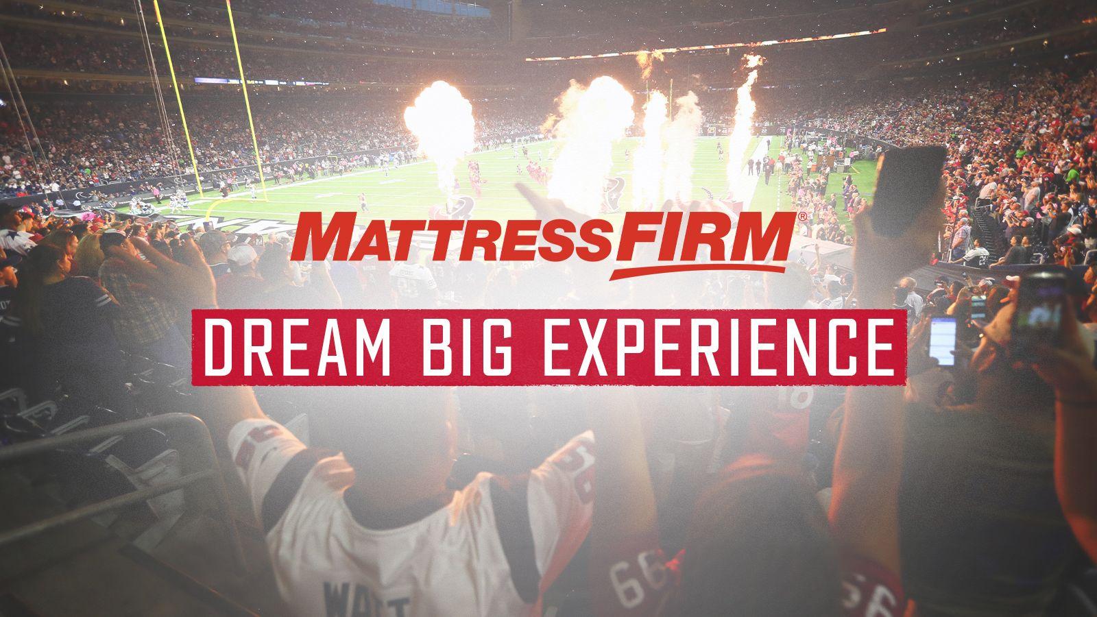 Mattress Firm Dream Big Experience