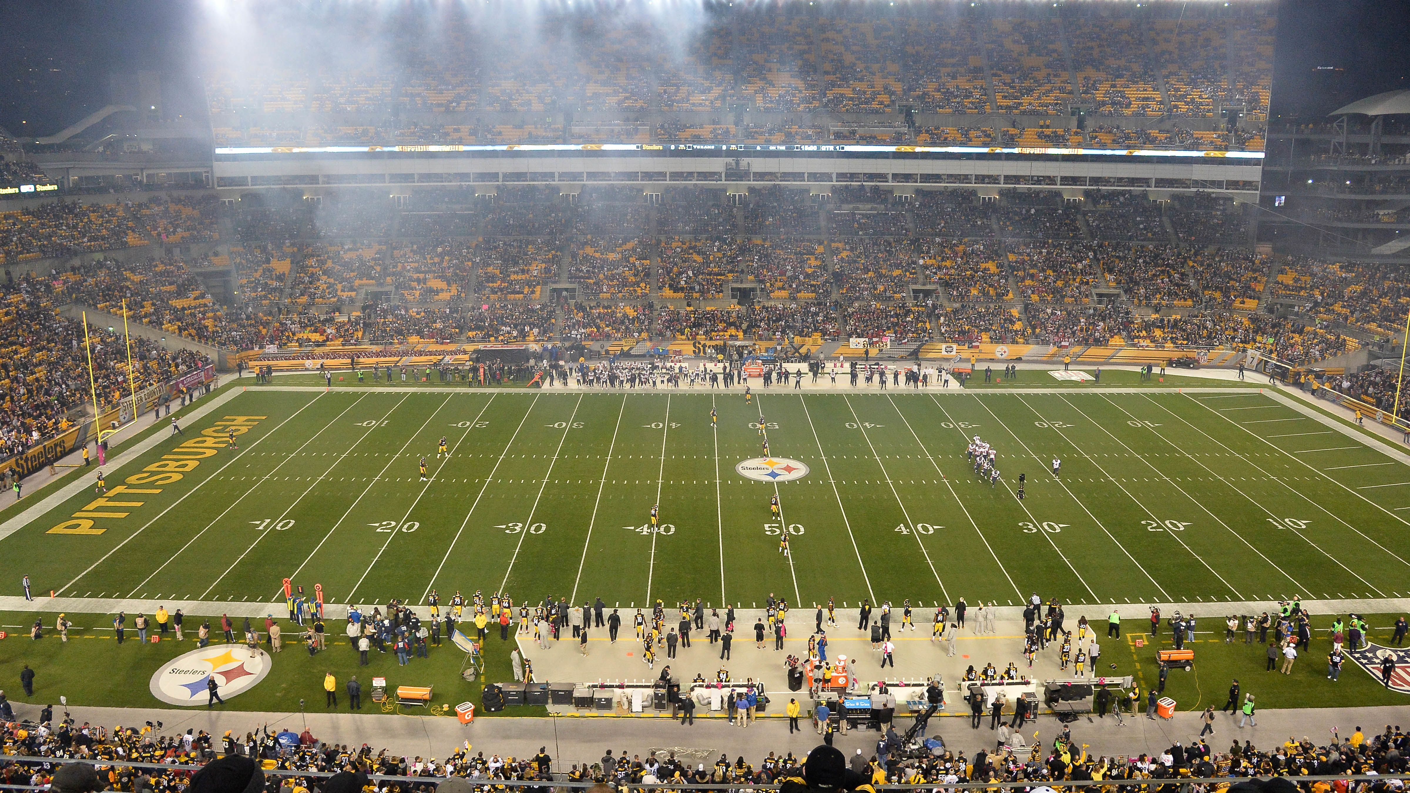 At Pittsburgh Steelers