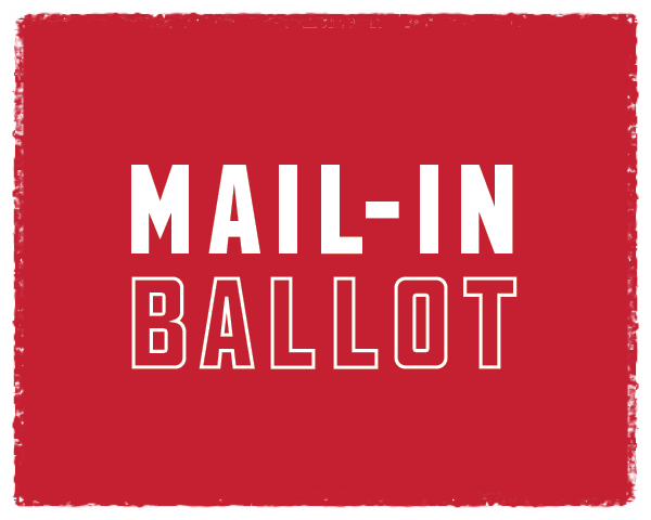 The Last Day to Request a Mail-In Ballot is Friday, October 23