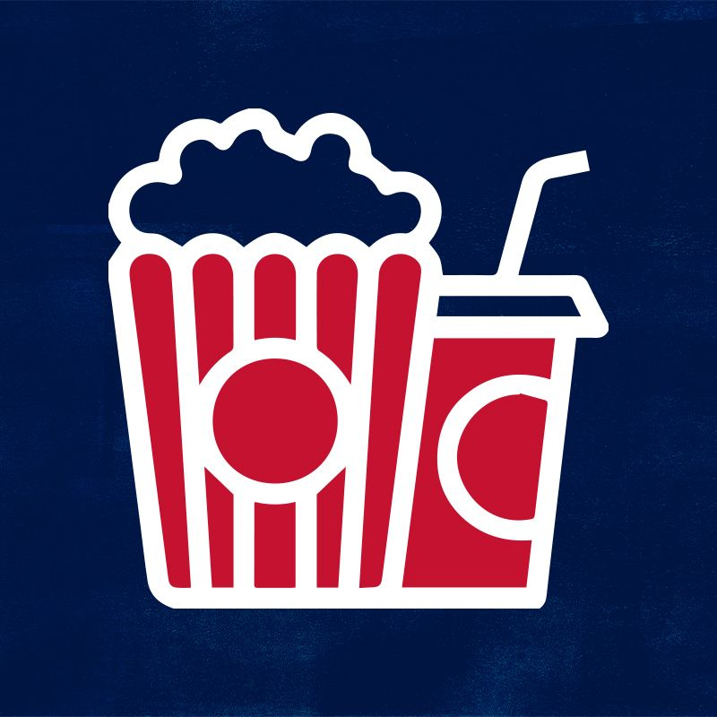 Icon: Popcorn and drink