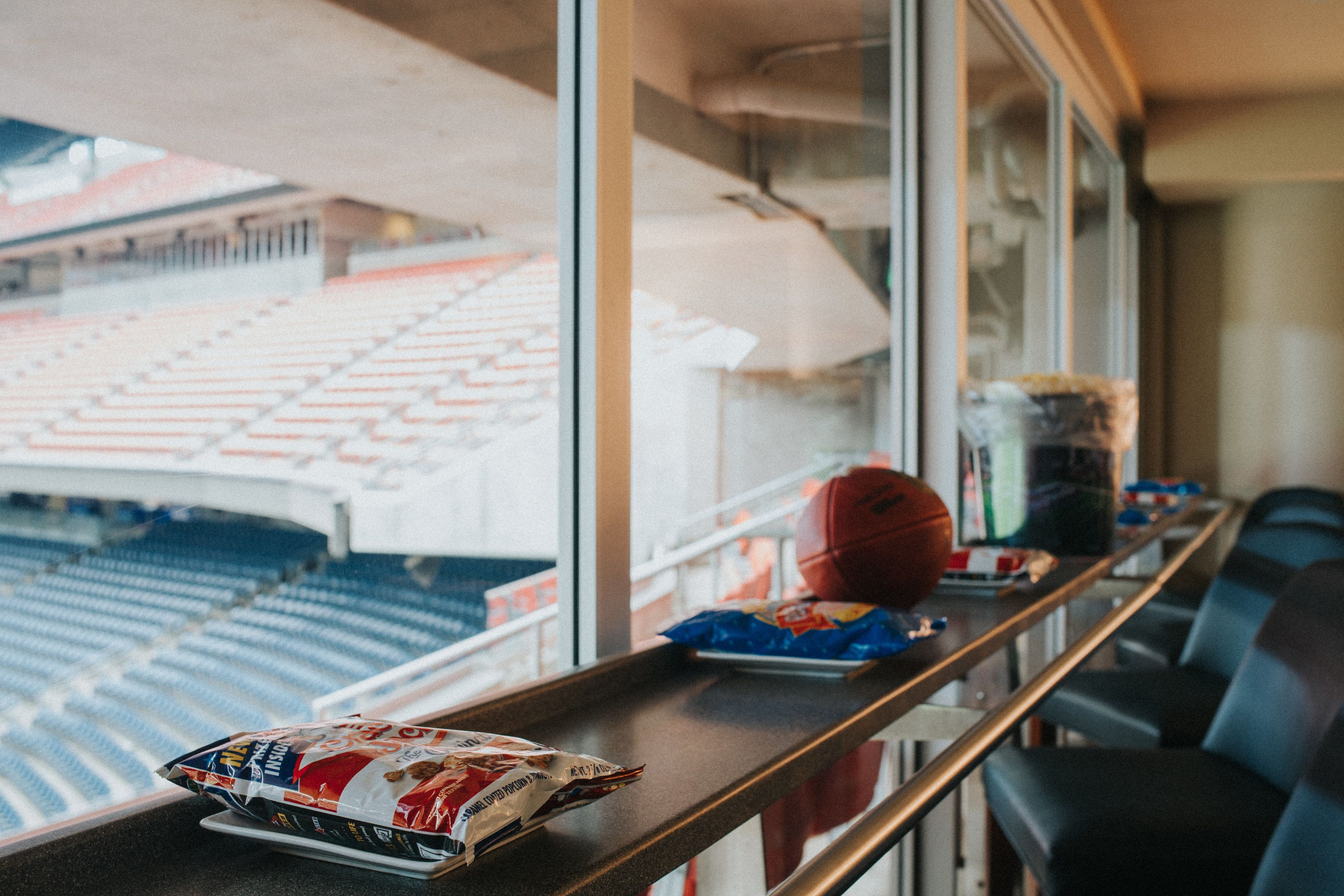 Food and non-alcoholic beverage included in suite price