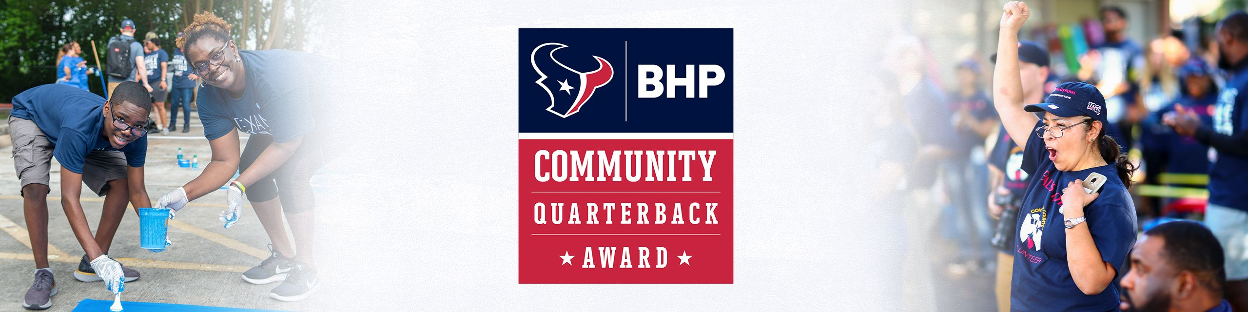 BHP Community Quarterback Award
