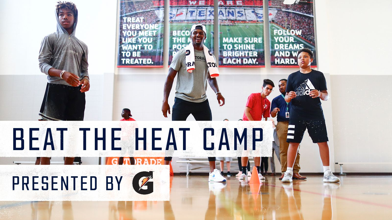 Beat the Heat Camp. Presented by Gatorade