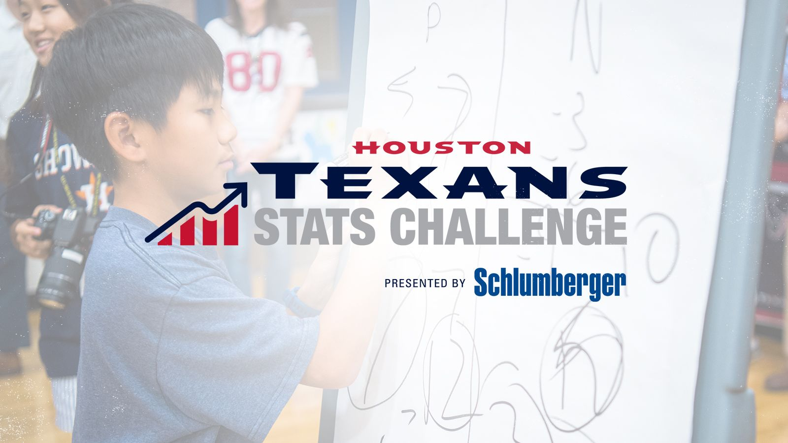 Houston Texans Stats Challenge. presented by Schlumberger