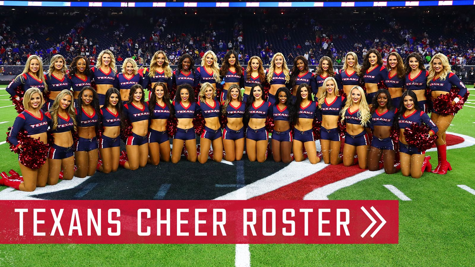 Texans Cheer Roster