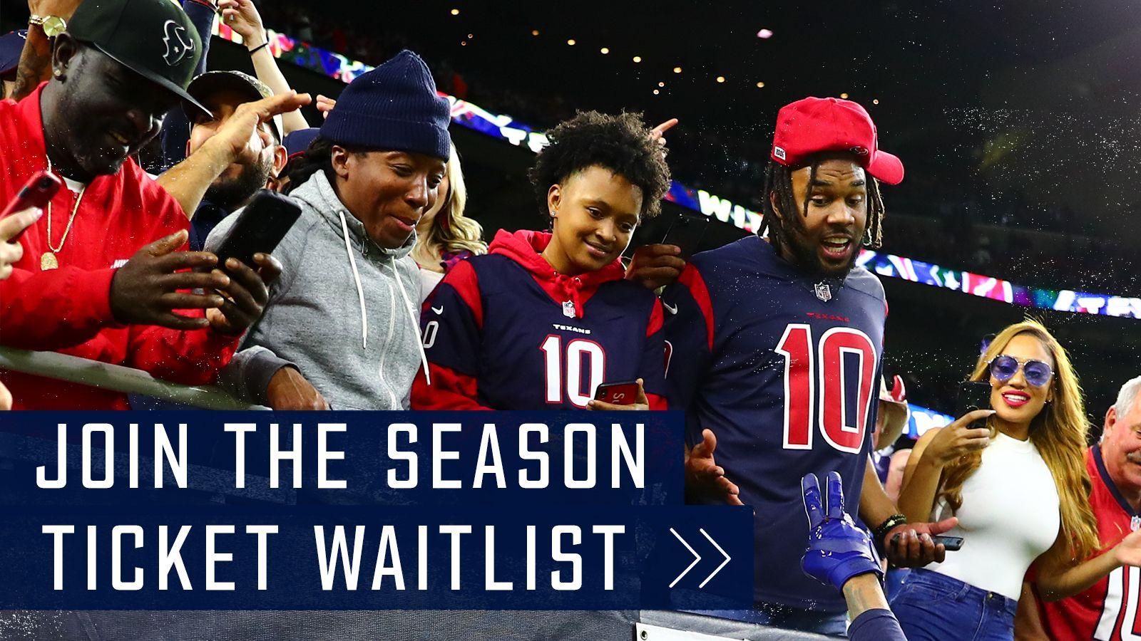 Join the Season Ticket Wait List