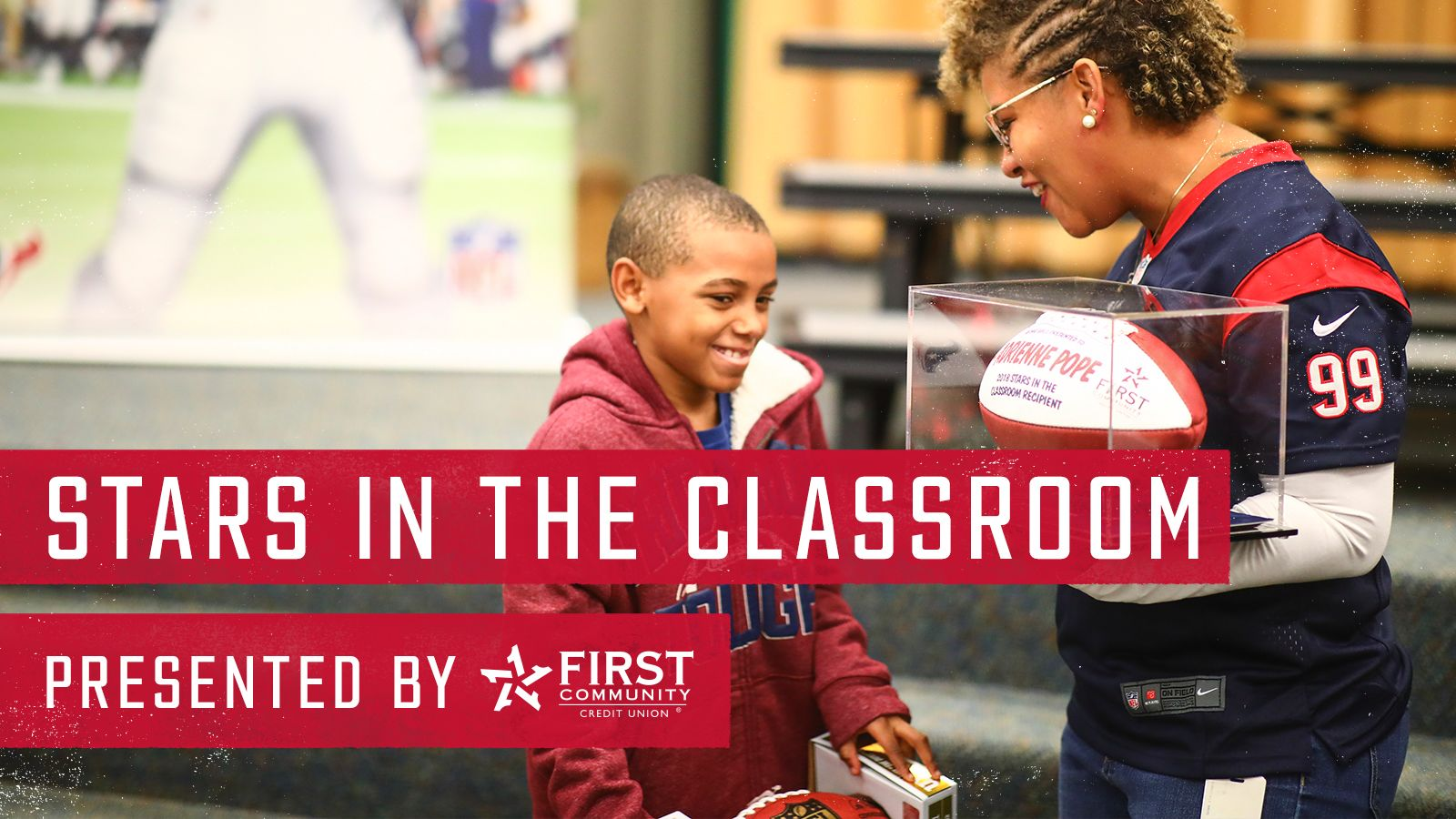 Stars in the Classroom. presented by First Community Credit Union