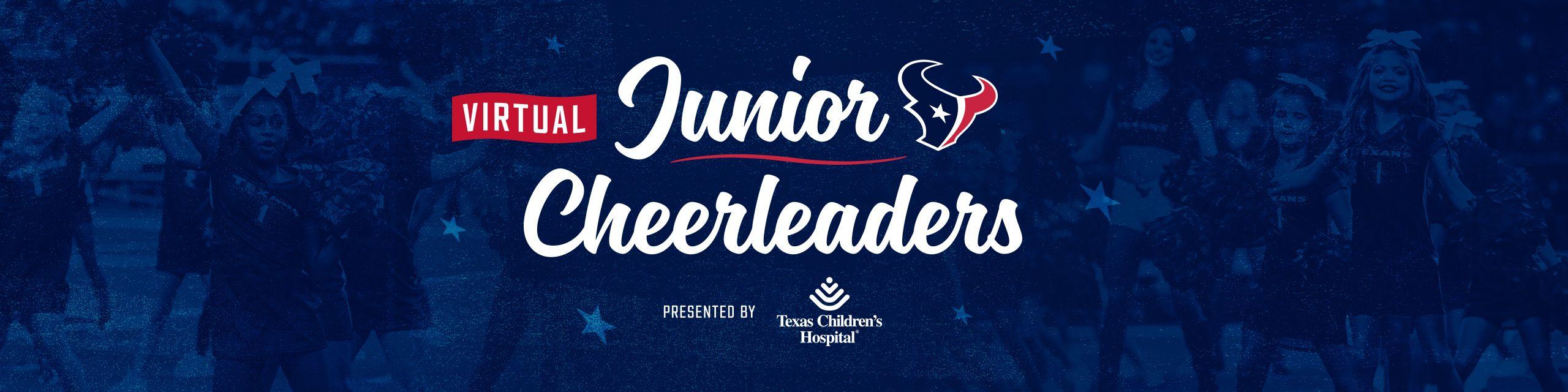 Virtual Junior Cheerleaders presented by Texas Children's Hospital