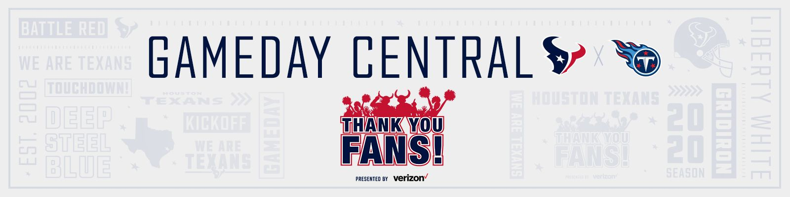 Gameday Central presented by Verizon