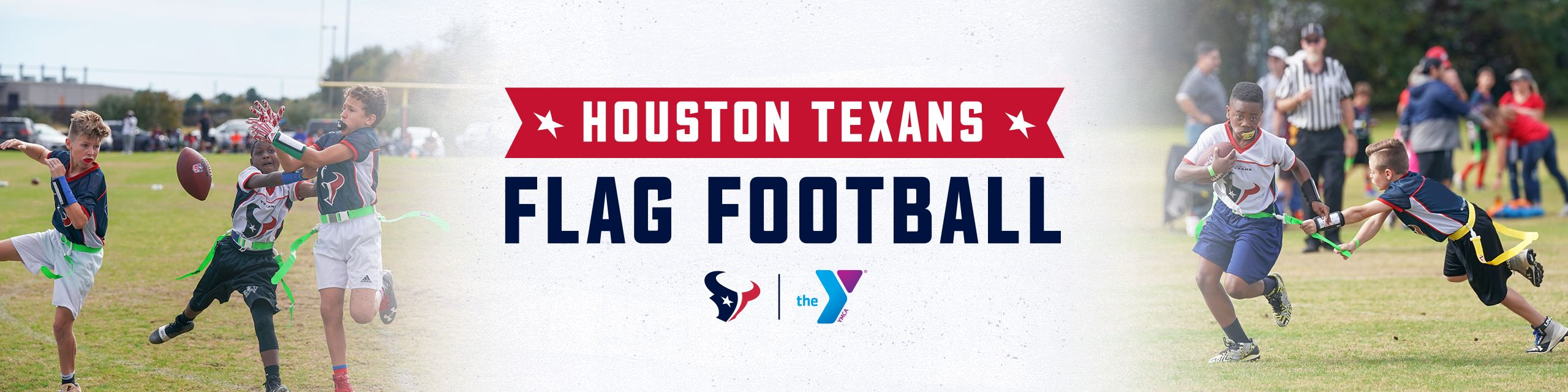 Houston Texans Flag Football with the YMCA