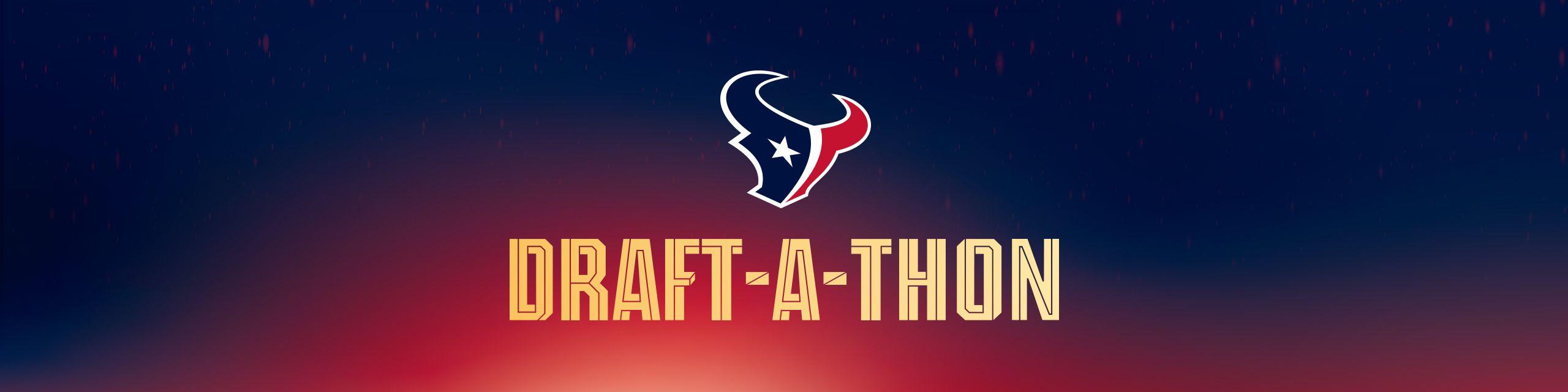Text: Draft-a-thon