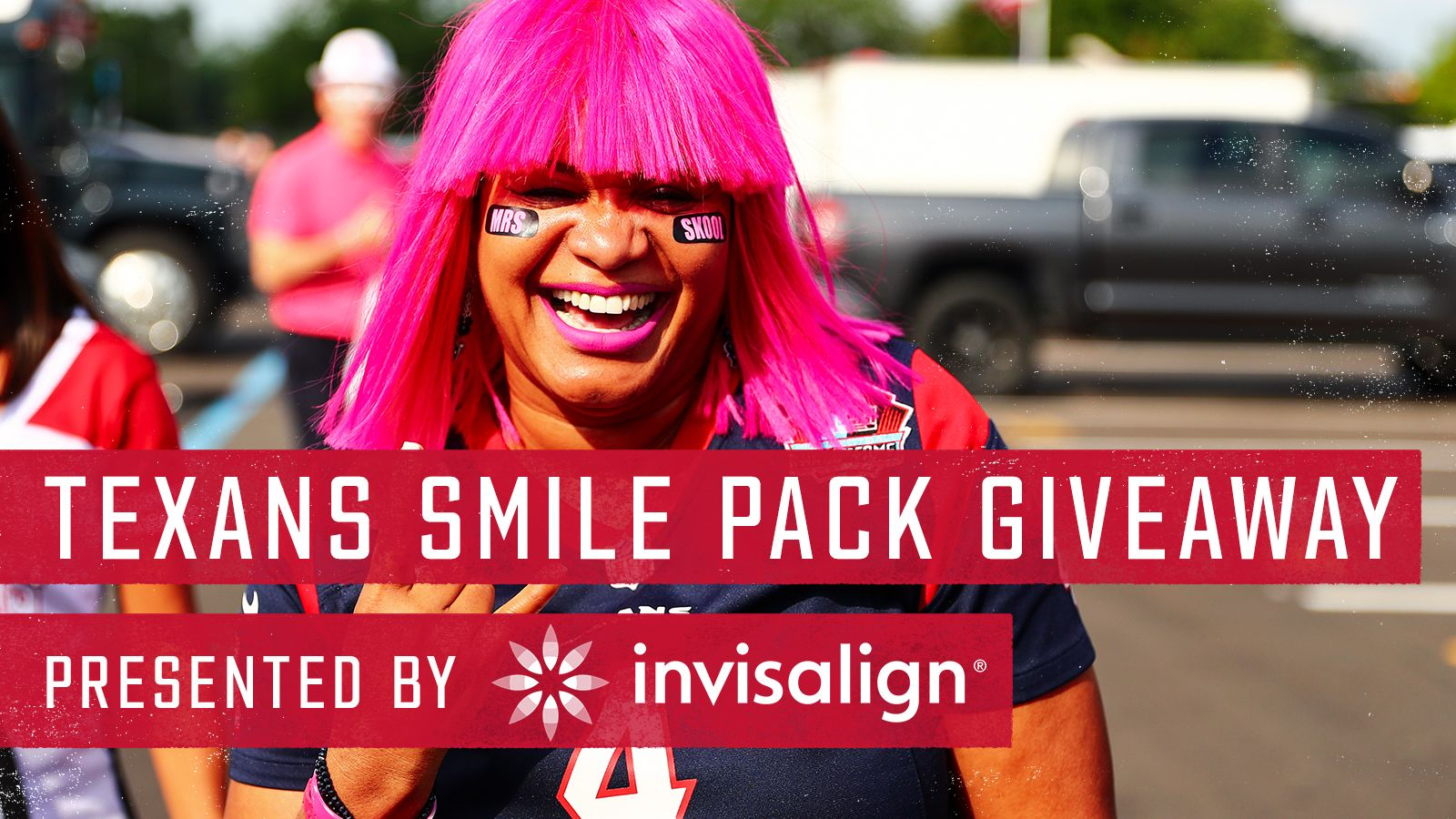 Texans Smile Pack Giveaway presented by Invisalign